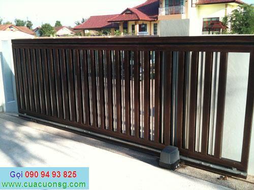 mẫu cổng sắt hộp và hàng rào