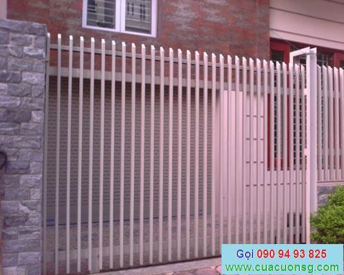 mẫu cổng và hàng rào đơn giản