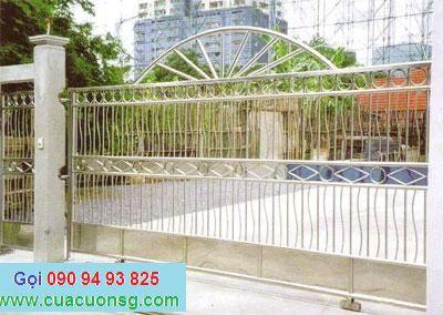 mẫu cổng và hàng rào hoa văn đơn giản