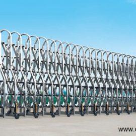 Mẫu cổng xếp inox nhập khẩu ST-092