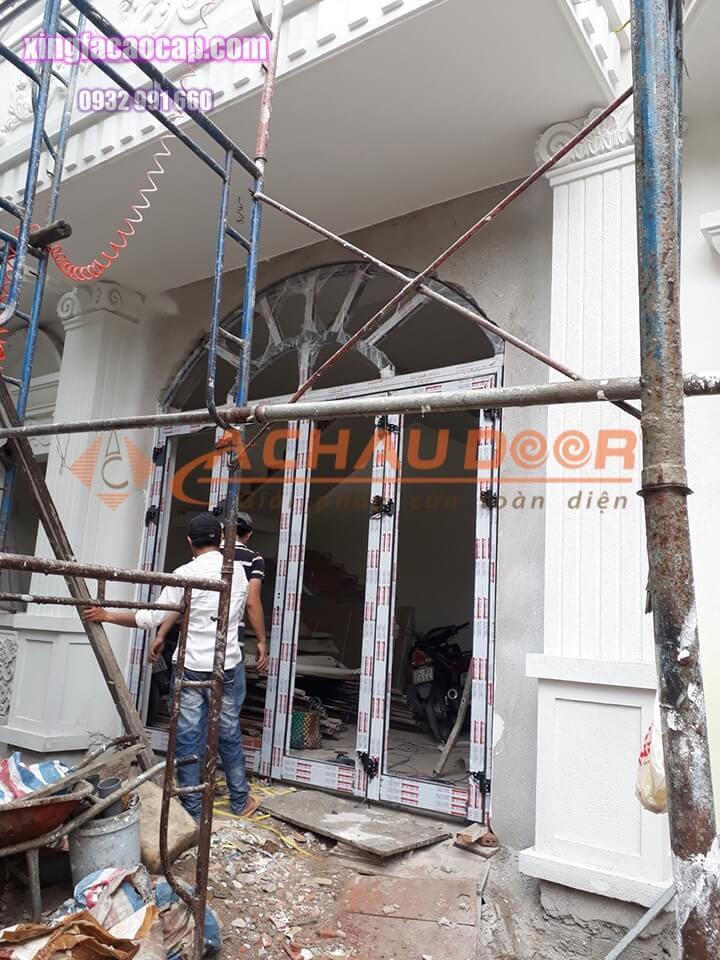 Công trình hoàn thiện cửa nhôm Xingfa