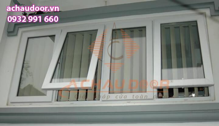 Cửa sổ mở hất nhôm Xingfa 4 cánh