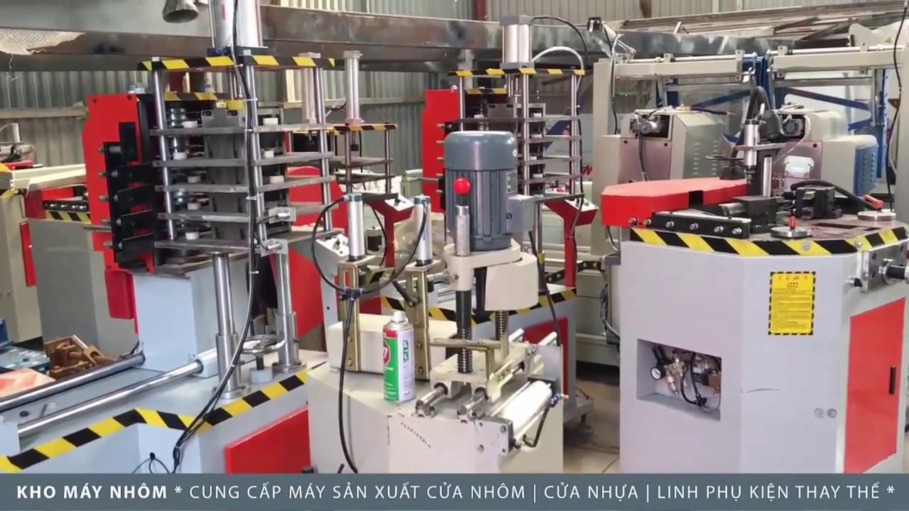 quy trình gia công cửa nhôm Xingfa