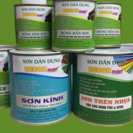 Báo Giá Sơn Sắt Mạ Kẽm Decor Paint Tp.HCM