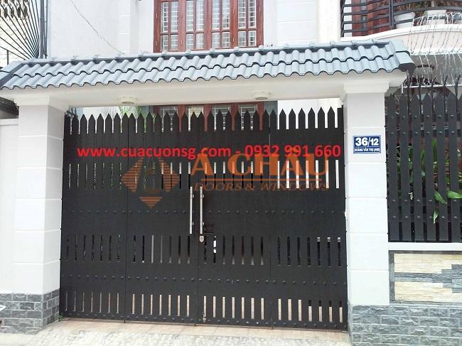 mẫu cổng và hàng rào đẹp