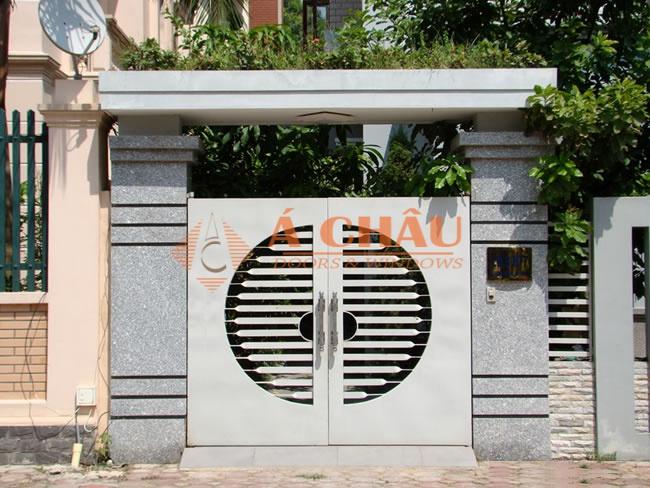 mẫu cổng biệt thự đơn giản