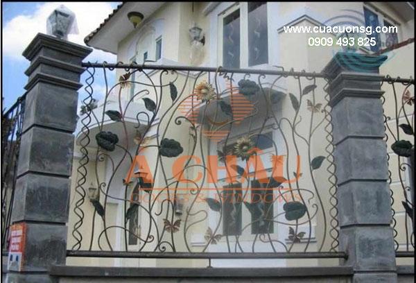 mẫu cổng và hàng rào biệt thự đẹp