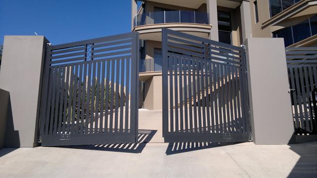 mẫu cổng biệt thự đẹp đơn giản