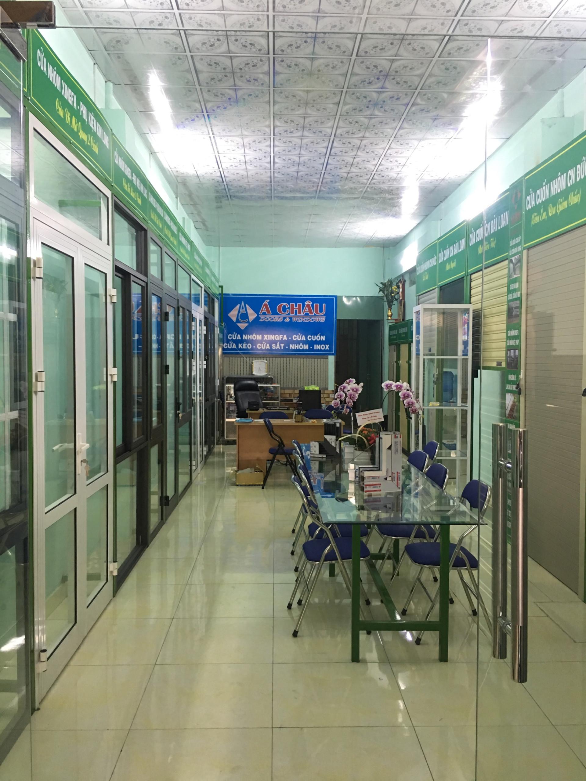 showroom cửa nhôm Xingfa Á Châu
