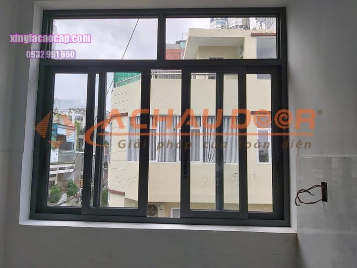 Cửa sổ mở lùa nhôm Xingfa 4 cánh