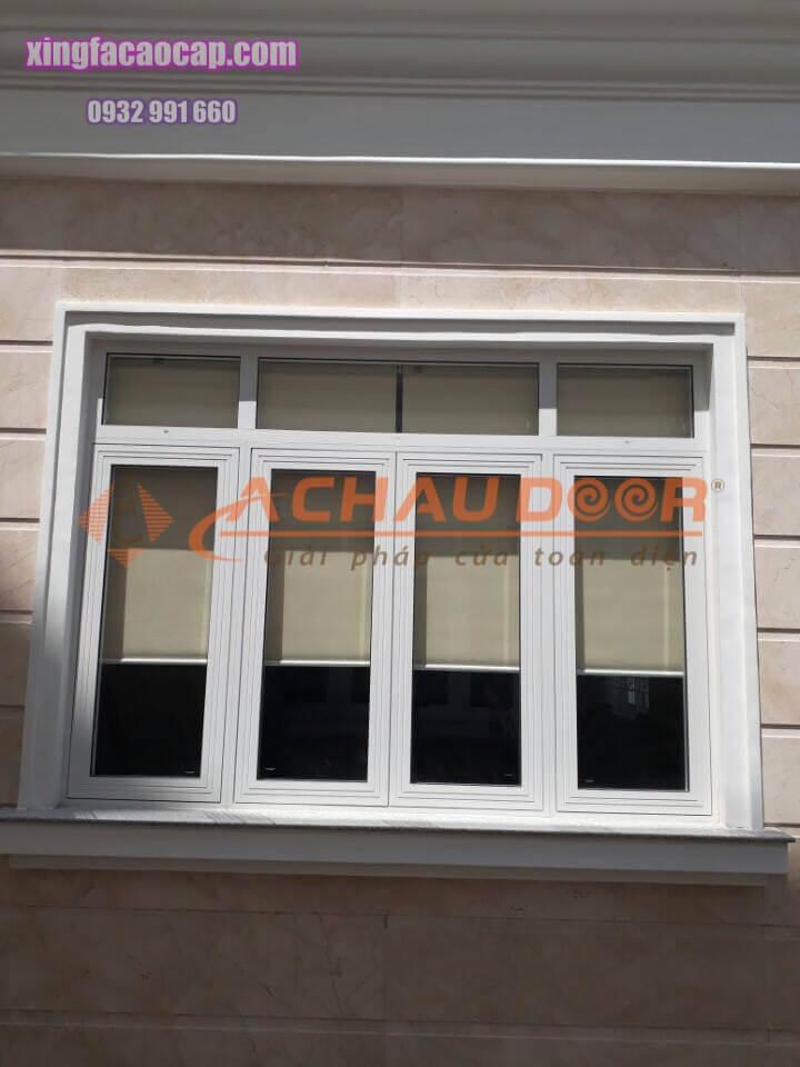 Cửa sổ mở quay nhôm Xingfa 4 cánh