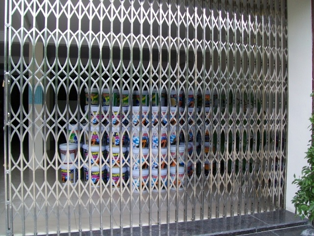 cửa kéo Đài Loan không lá U 6 Dem