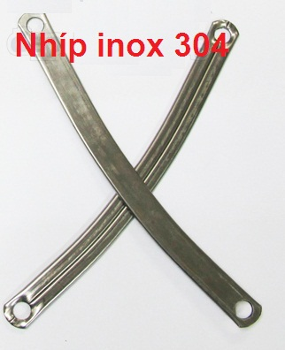 Mẫu nhíp cửa kéo inox Á Châu Door