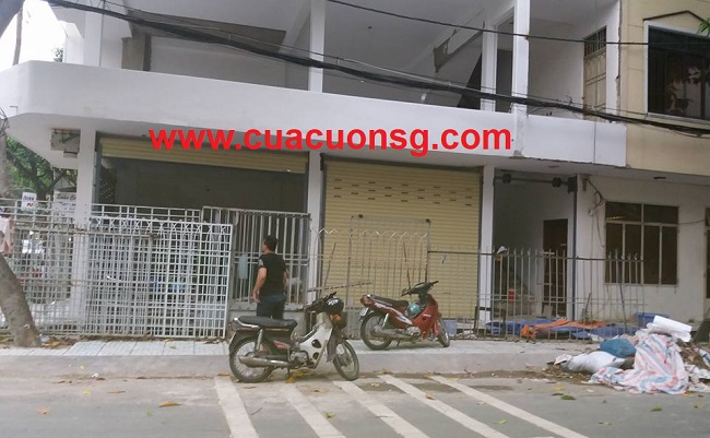 Thi công hoàn thiện cửa cuốn Đài Loan