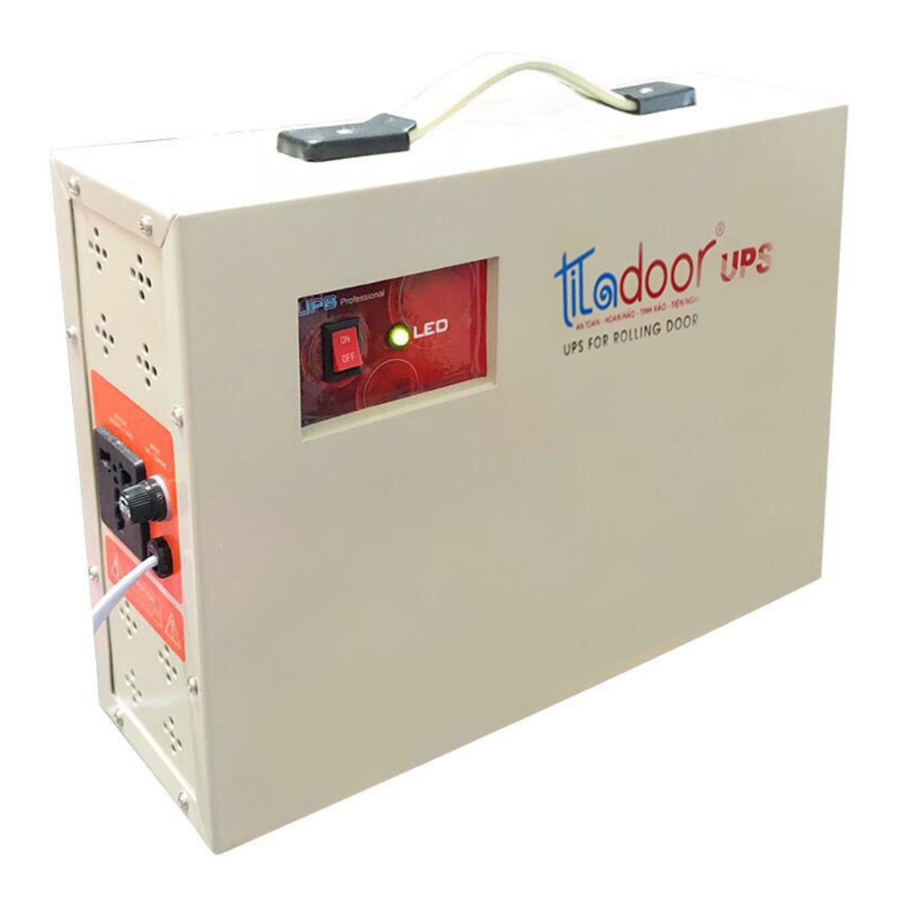 bình lưu điện cửa cuốn Titadoor TU8