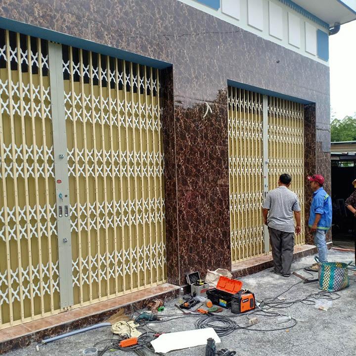 Sửa cửa kéo giá rẻ Sài Gòn
