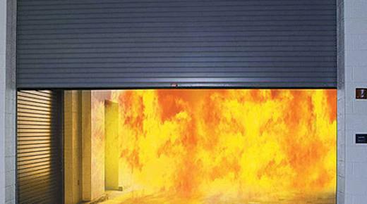 Cửa Cuốn Thép Chống Cháy AF100 2