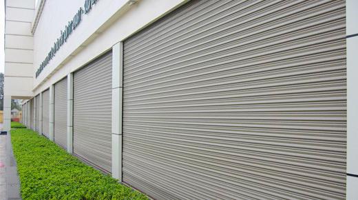 Cửa Cuốn Nan Nhôm Doortech D10